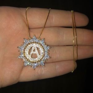 "Jewelry - ✨Stunning ""A"" Initial Necklace ✨"